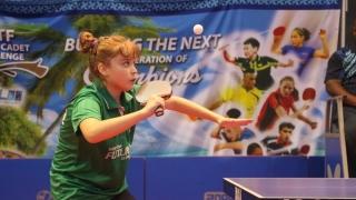O constănțeancă, noul copil-minune al tenisului de masă românesc