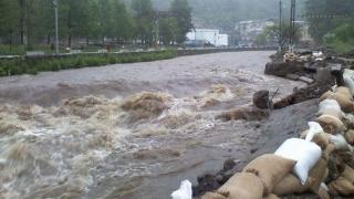 Cod galben de inundaţii în mai multe judeţe din ţară