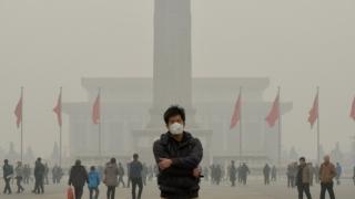 Cod albastru de poluare la Beijing