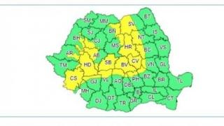 Actualizare date meteo: Informare valabilă pentru toată țara