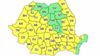 Un nou val de căldură în România. COD GALBEN de caniculă luni și marți