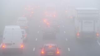 Cod galben de ceață în județele Constanța și Tulcea! Cum este pe litoral?