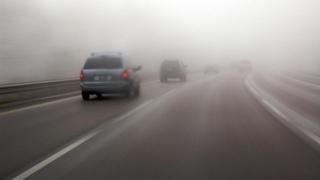 Opt județe ale țării, sub cod galben de ceață