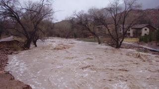 Cod galben de inundații pe râurile din Dobrogea, de sâmbătă până luni