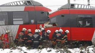 Coliziune cumplită între două trenuri. Mai multe victime