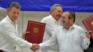 Acord de pace istoric semnat în Columbia