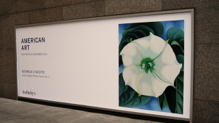 Omagiu adus pictoriței Georgia O'Keeffe prin cea mai mare expoziție din Europa