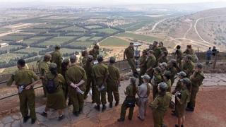 Comasare de trupe în platoul Golan!