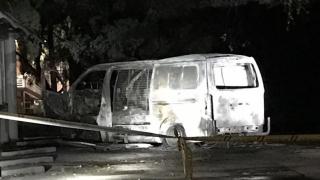 O mașină cu butelii a intrat în sediul unui grup creștin din Canberra
