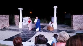 Comedie despre viața poetului Ovidius la Amfiteatrul din Parcul Tăbăcărie