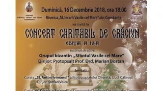 Concert caritabil de Crăciun, la Constanța