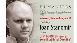 """Conferinţă şi lansare de carte, la Universitatea """"Ovidius"""""""