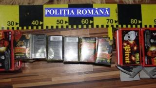 5,2 tone de articole pirotehnice, confiscate în Constanța și în alte județe