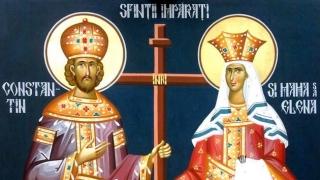 Sfinţii Constantin şi Elena, sărbătoriți de ortodocşi pe 21 mai