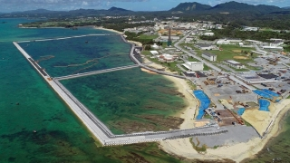 Construcţia unei noi baze militare americane în sudul insulei Okinawa, controversată