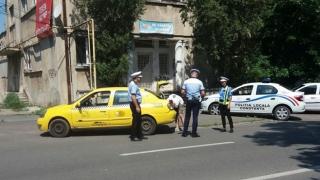 Taximetriștii din Constanța, luați la bani mărunți de polițiști