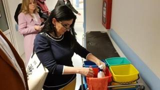 Vizită inopinată a ministrului Sănătății la Spitalul Clinic Judetean Constanța