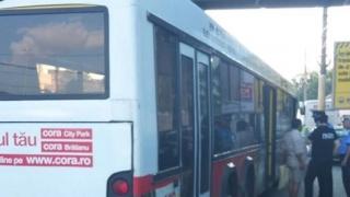 Razie a polițiștilor în autobuzele RATC din Constanța