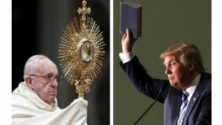 """""""O omisiune neobișnuită"""": Trump nu vrea să-l vadă pe Papa Francisc"""