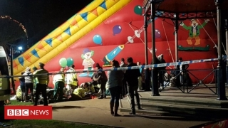 Copii răniţi într-un parc de distracţii din Marea Britanie! Ce s-a întâmplat