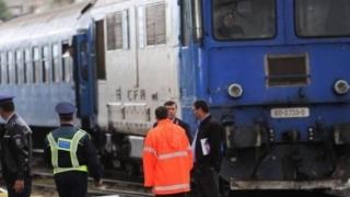 Copil lovit de tren, la Valu lui Traian