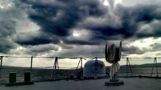 """Corespondență din Mediterană. Fregata """"Regele Ferdinand"""", în NATO SEA GUARDIAN"""