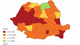 Coronavirus. Care sunt județele care se află încă în zona roșie