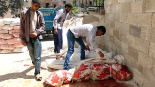 400 de cadavre descoperite în gropi comune, într-un fost bastion jihadist