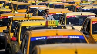 Protestul transportatorilor paralizează traficul constănțean