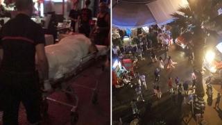Panică pe Coasta de Azur: 40 de persoane rănite cu petarde