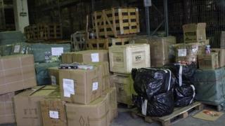 Încălțări și geci contrafăcute, confiscate în port! Valoarea mărfurilor - 792.000 de euro!