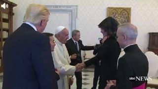 Papa a discutat cu Melania despre ce mănâncă Trump