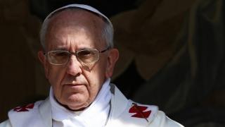"""Papa: """"Nu pot să merg în Rusia, deoarece ar trebui să merg de asemenea în Ucraina"""""""