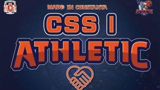 Parteneriat între BC Athletic și CSȘ 1 Constanța
