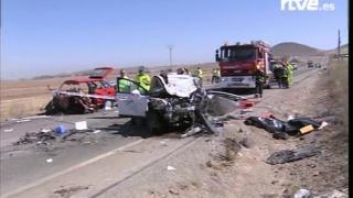 Patru români au murit în Spania, într-un cumplit accident rutier