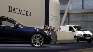 Percheziții la birourile Daimler din Stuttgart