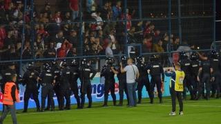 """FC Viitorul mulțumește Grupării Mobile de Jandarmi """"Tomis"""" Constanța"""