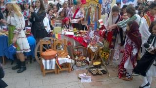 Piața Ovidiu s-a transformat într-o mini-Europă de 9 mai
