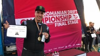 Pilotul Călin Ciortan este noul campion național la drift