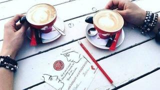 """""""Poezie în doi"""" cu aromă de cafea"""