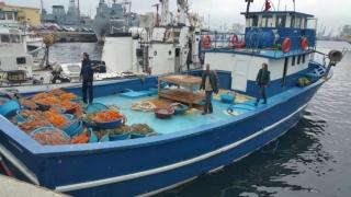 Pescador turcesc oprit din braconat cu focuri de armă
