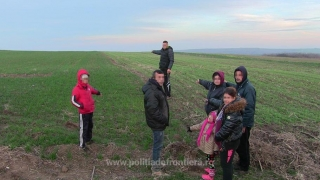 Polițiștii constănțeni au reținut patru călăuze bulgare și șase migranți!