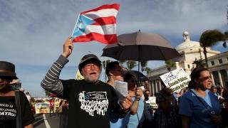 Portoricanii falimentari cer... decolonizarea. Gata cu SUA!