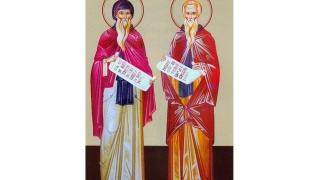 Povestea sfinţilor sciţi Ioan Casian șiGherman