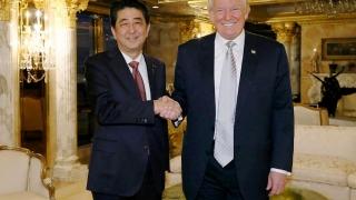 Premierul japonez vede în Donald Trump... un lider demn de încredere