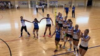 Primele meciuri amicale pentru echipa de volei CS Medgidia
