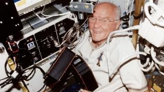 Primul american care a zburat în jurul Pământului, la spital