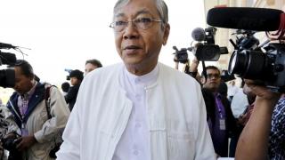 Primul președinte civil din ultima jumătate de secol în Myanmar