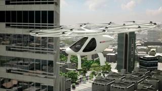 Primul zbor pentru taxiul-dronă