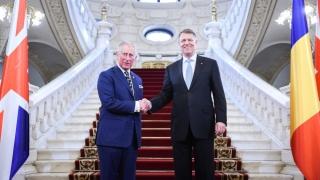 "Prințul Charles, decorat cu ordinul ""Steaua României"""